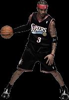 NBA Basketball - Allen Iverson 1/6th Action Figure