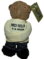Teddy Scares - Ned Kelly 8 Bear