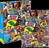DC Comics - Superman Retro Collage 1000 Piece Jigsaw Puzzle