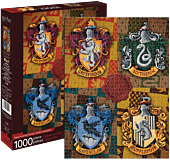 Harry Potter - Hogwarts House Crests 1000 Piece Jigsaw Puzzle