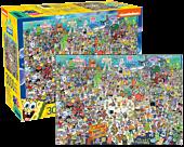 SpongeBob SquarePants - 3000 Piece Jigsaw Puzzle