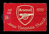 Soccer - Arsenal Football Club Crest Doormat   Popcultcha