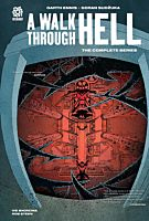 A Walk Through Hell - The Complete Series by Garth Ennis Hardcover Book