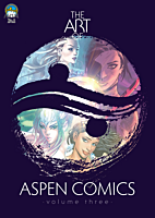 Aspen Comics - The Art of Aspen Comics Volume 03 Paperback Book (2017 San Diego Exclusive Edition)