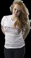 Assassins Creed - Logo White Female T-Shirt