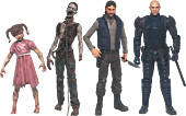"The Walking Dead - Comic Series 2 - 5"" Action Figures (Set of 4)"
