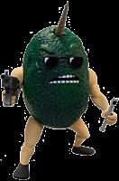 "Axe Cop - Avocado Soldier 4"" Action Figure (Series 1)"