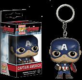 The Avengers - Avengers 2 Captain America Pocket Pop! Vinyl Keychain