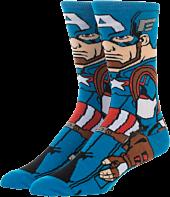 Avengers 4: Endgame - Captain America 360 Character Men's Sock (One Size)