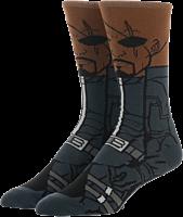 Avengers 4: Endgame - Nick Fury 360 Character Men's Socks (One Size)