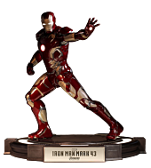 Iron Man Mark 43 Cinemaquette Statue