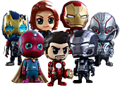 "Avengers 2: Age of Ultron - Cosbaby 3.75"" Hot Toys 7 Figure Collectable Set (Series 2)"