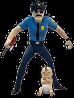 """Axe Cop - Axe Cop 4"""" Action Figure (Series 1)"""