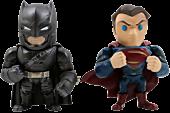 "Batman vs Superman: Dawn of Justice - Batman & Superman Metals 4"" Die-Cast Action Figure 2-Pack Main Image"