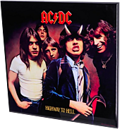 AC/DC - Highway to Hell Crystal Clear Picture by Nemesis Now.