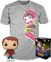 Back To The Future II - Marty McFly with Hoverboard Pop! Vinyl Figure & T-Shirt Box Set