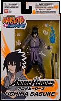 "Naruto - Sasuke Uchiha Anime Heroes 6"" Action Figure"