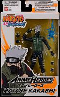 "Naruto - Kakashi Hatake Anime Heroes 6"" Action Figure"