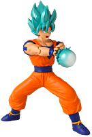 "Dragon Ball - Super Saiyan Blue Goku Attack 7"" Action Figure"