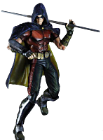 "Batman Arkham City - Robin Play Arts 10"" Action Figure"