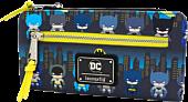 """Batman - Gotham City Chibi Print 8"""" Faux Leather Wallet"""