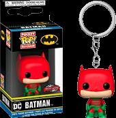 Batman - Batman Holiday Funko Pocket Pop! Vinyl Keychain