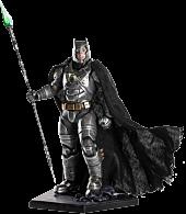 Batman vs Superman: Dawn of Justice - Battle Damaged Armored Batman 1/10th Scale Statue Main Image