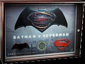 Batman v Superman: Dawn of Justice - Limited Edition Metal Collectors Plaque Main Image