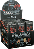 "Battlestar Galactica - Titans 3"" Blind Box Vinyl Figures (Display of 18 Units)"
