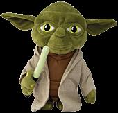"""Battling Yoda 10"""" Talking Plush"""
