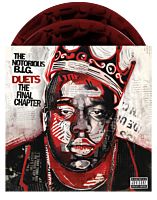 The Notorious B.I.G. - Duets: The Final Chapter 2xLP Vinyl Record (2021 Record Store Day Exclusive Red / Black Swirl Vinyl)