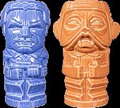 Star Wars - Lando Calrissian & Nien Nunb Geeki Tiki Mug 2-Pack