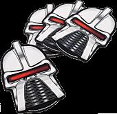 Battlestar Galactica - Cylon Centurion Coasters (Set of 4)