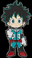 "My Hero Academia - Deku 3"" Lapel Pin"