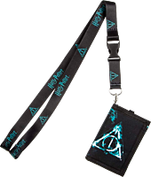 Harry Potter - Deathly Hallows Trifold Lanyard Wallet