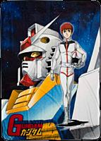 Gundam - Original Cover Throw Blanket / Picnic Rug