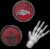 A Nightmare on Elm Street - Lapel Pin Set