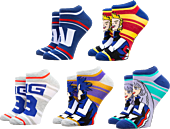My Hero Academia - Ankle Sock 5-Pack (One Size)