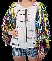 Birds of Prey (2020) - Harley Quinn Caution Tassel Jacket (Large/X-Large)