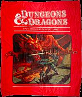 Dungeons & Dragons - Digital Print Throw Blanket / Picnic Rug
