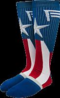 Captain America - Captain America Suit-Up Crew Socks (One Size)