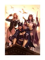 Birds of Prey Premium Art Print by Alex Garner