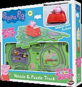 Peppa Pig - Motorised Track Playset (6 Pieces)