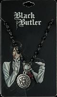 Black Butler - Sebastian Charm Necklace   Popcultcha
