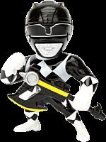 "Black Ranger 4"" Metals Die-Cast Action Figure"