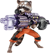 Guardians of the Galaxy - Big Blastin Rocket Raccoon Action Figure