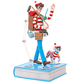 Where's Wally? - Wally Deluxe 1/12th Scale Action Figure
