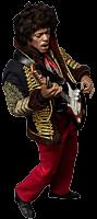 Jimi Hendrix - Jimi Hendrix Premium 1/6th Scale Action Figure