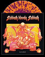 Black Sabbath - Sabbath Bloody Sabbath LP Vinyl Record (Orange With Purple Splatter Coloured Vinyl)