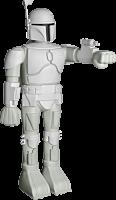 Star Wars - Super Shogun Boba Fett Vinyl Prototype Version Action Figure Main Image